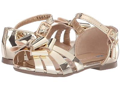 Kid Express Sabrina (Toddler/Little Kid/Big Kid) (Gold Mirrored Metallic) Girls Shoes