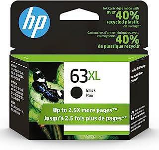HP 63XL | Ink Cartridge | Works with HP Deskjet 1112, 2100 Series, 3600 Series, HP ENVY 4500 Series, HP OfficeJet 3800 Ser...