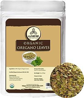 Naturevibe Botanicals Organic Oregano leaves, 5oz   Non-GMO and Gluten Free   Seasoning   Adds Flavor
