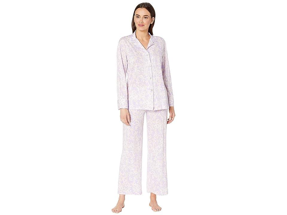 Natori Melody Supima Cotton Long Sleeve PJ (Light Wisteria) Women