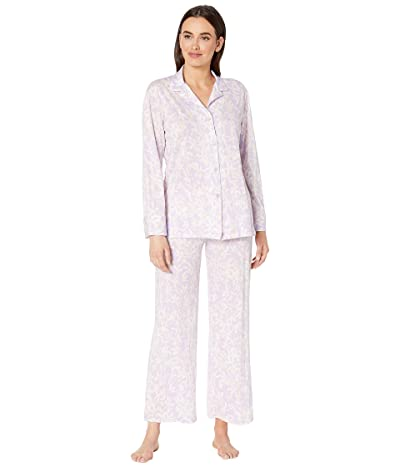 Natori Melody Supima Cotton Long Sleeve PJ (Light Wisteria) Women