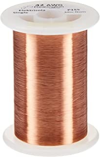 Remington Industries 42SNSP.25 42 AWG Magnet Wire, Enameled Copper Wire, 4 oz, 0.0026
