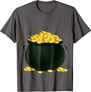 Pot Of Gold Costume T-Shirt Holiday and Halloween Parties