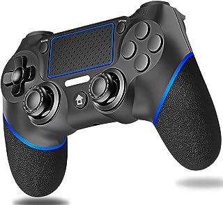 PS4 コントローラー Diestord ワイヤレス PS4ゲームパッド bluetooth PCゲーム PS4/PS4 Pro/Slim/PC(Windows7/8/10)に対応 (青)