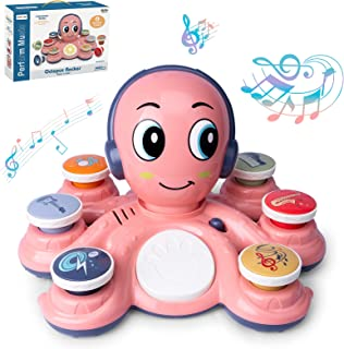 CYURMJUN Baby Musical Toys Learning Toys for Toddlers, Octopus Music Toys, Preschooler Musical Educational Instruments Toy...