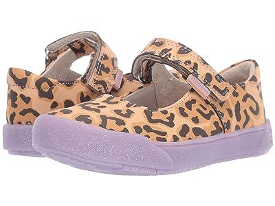 pediped Barbara Flex (Toddler/Little Kid) (Leopard) Girl
