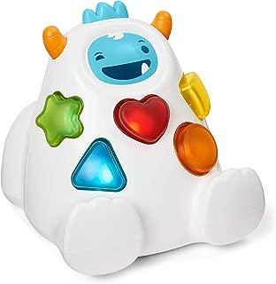 Skip Hop Yeti Shape Sorter Explore & More 3-Stage Spinning & Sorting Developmental Learning Toddler Toy