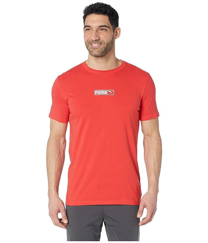 PUMA Graphic Logo No.2 Tees (High Risk Red) Men