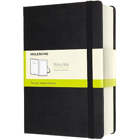 5 x 8.25 Black Large Hard Cover Moleskine PRO Portfolio