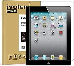 iVoler Verre Trempé pour iPad 2/3 / 4 9.7 Pouces, Film Protection en Verre trempé écran Protecteur Vitre