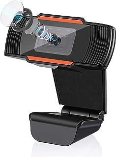 「2020年最新型」IVSO webカメラ ウェブカメラ フルHD1080P/30fps 100°広角 Webカメラ 200万画素 高画質パソコンカメラ USBカメラ PCカメラ マイク内蔵 RightLight2™技術自動光補正 在宅勤務 動...