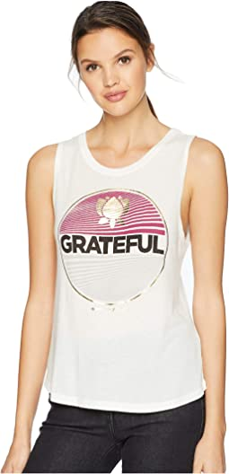 Grateful Muscle Tank Top