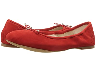Sam Edelman Felicia (Candy Red Suede Leather) Women