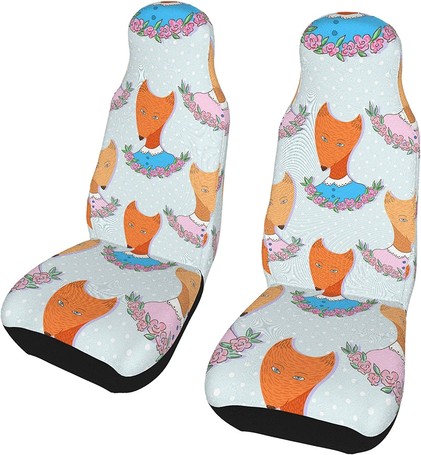 At the price of surprise REDDATES Special Campaign Cartoon Animals Car Seat Protecto Cover Seats Front