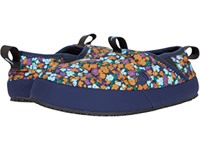 The North Face Kids Thermal Tent Mule II (Toddler/Little Kid/Big Kid) (TNF Navy Wildflowers Print/TNF Navy) Kids Shoes