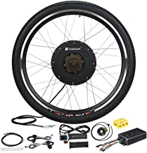 """Voilamart 26"""" Rear Wheel Electric Bicycle Conversion Kit, 48V 1500W E-Bike Powerful Hub Motor Kit with Intelligent Control..."""