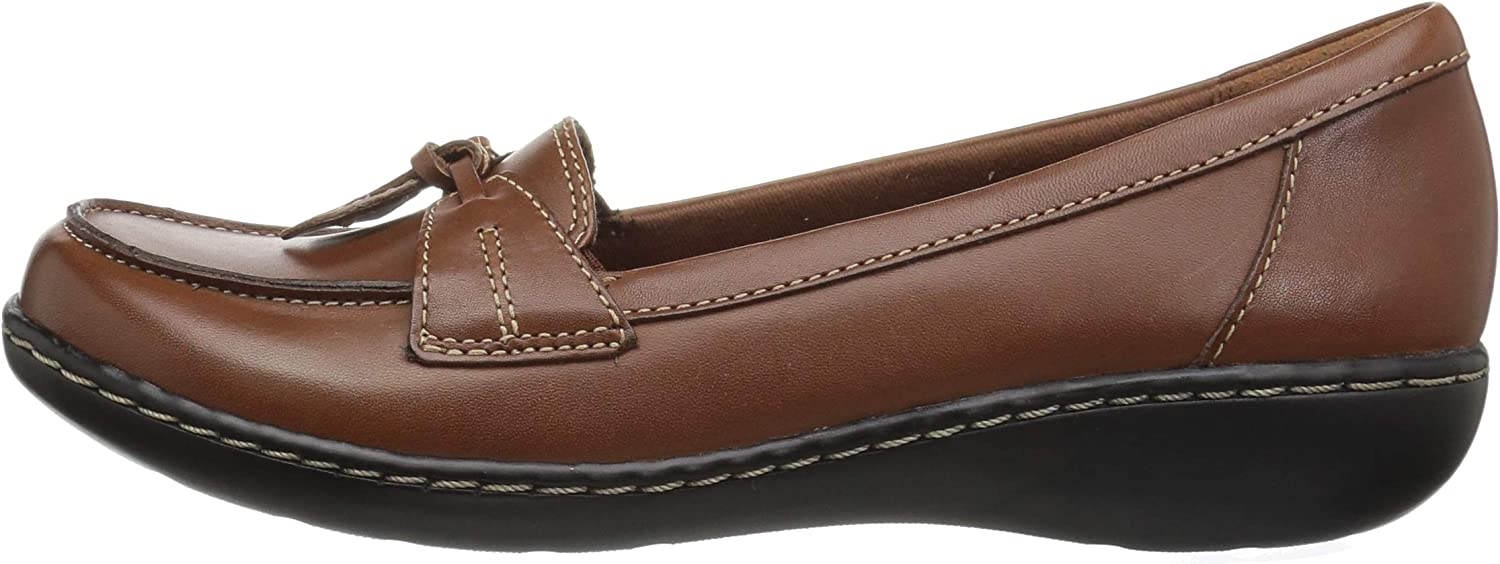 Clarks Ashland Womens Bubble Loafer Shoes