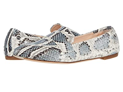 AGL Softy Moccasin (Denim Snakeskin) Women