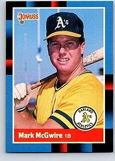 1988 Donruss #256 Mark McGwire Mint Baseball MLB Athletics