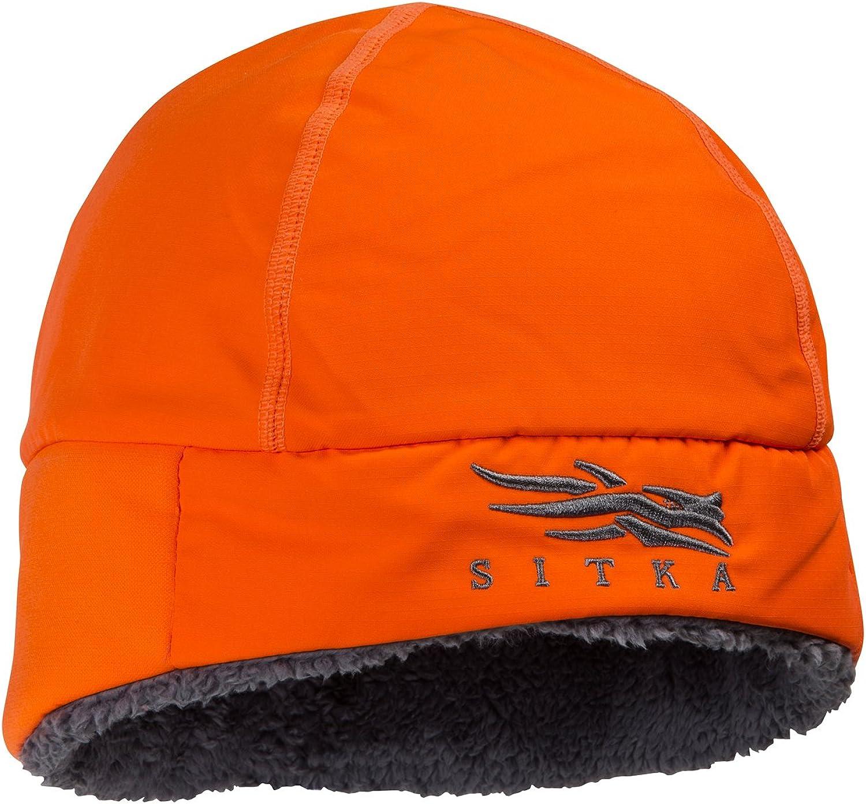 Sitka Ballistic Beanie Blaze orange One Size Fits All