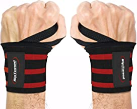 """Rip Toned Wrist Wraps - 18"""" Professional Grade with Thumb Loops - Wrist Support Braces - Men & Women - Weight Lifting, Cro..."""