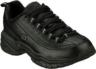 Women's Work Soft Stride-Softie Lace-Up Soft-Toe Sneaker Black