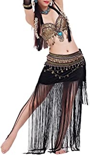 Belly Dance Tribal Gypsy Costume, Belly Dance Bra & Skirt, Gift Idea