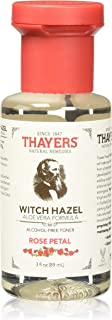 Thayers Alcohol-free Rose Petal Witch Hazel with Aloe Vera 1 Count,3 Fl oz