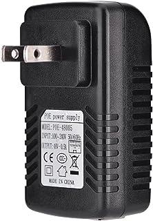 POEアダプタ 48V 0.5A POEインジェクタ イーサネットアダプタ IP電話、無線アクセスポイント、クライアントデバイスなどと互換 壁掛け式(米国プラグ)
