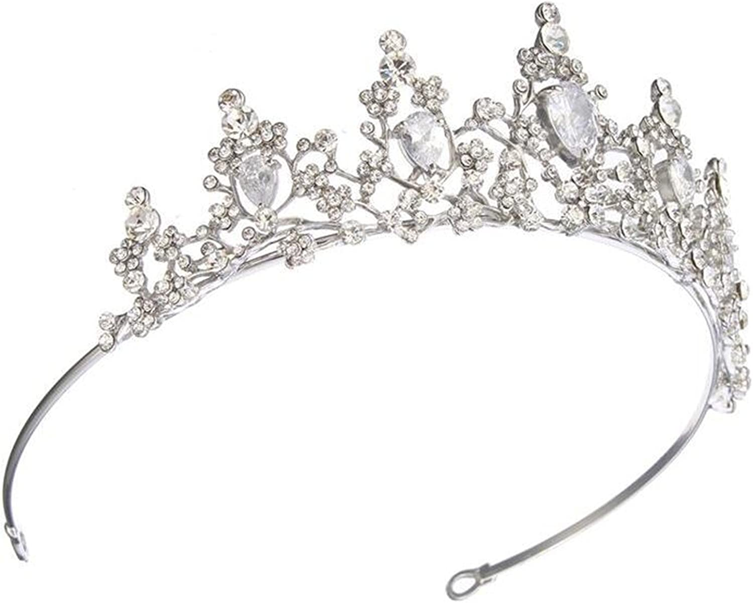 wiipujewelry Wiipu Luxury Princess Queen Pageant Prom Crystal Wedding Bridal Tiara Crown(A1064)