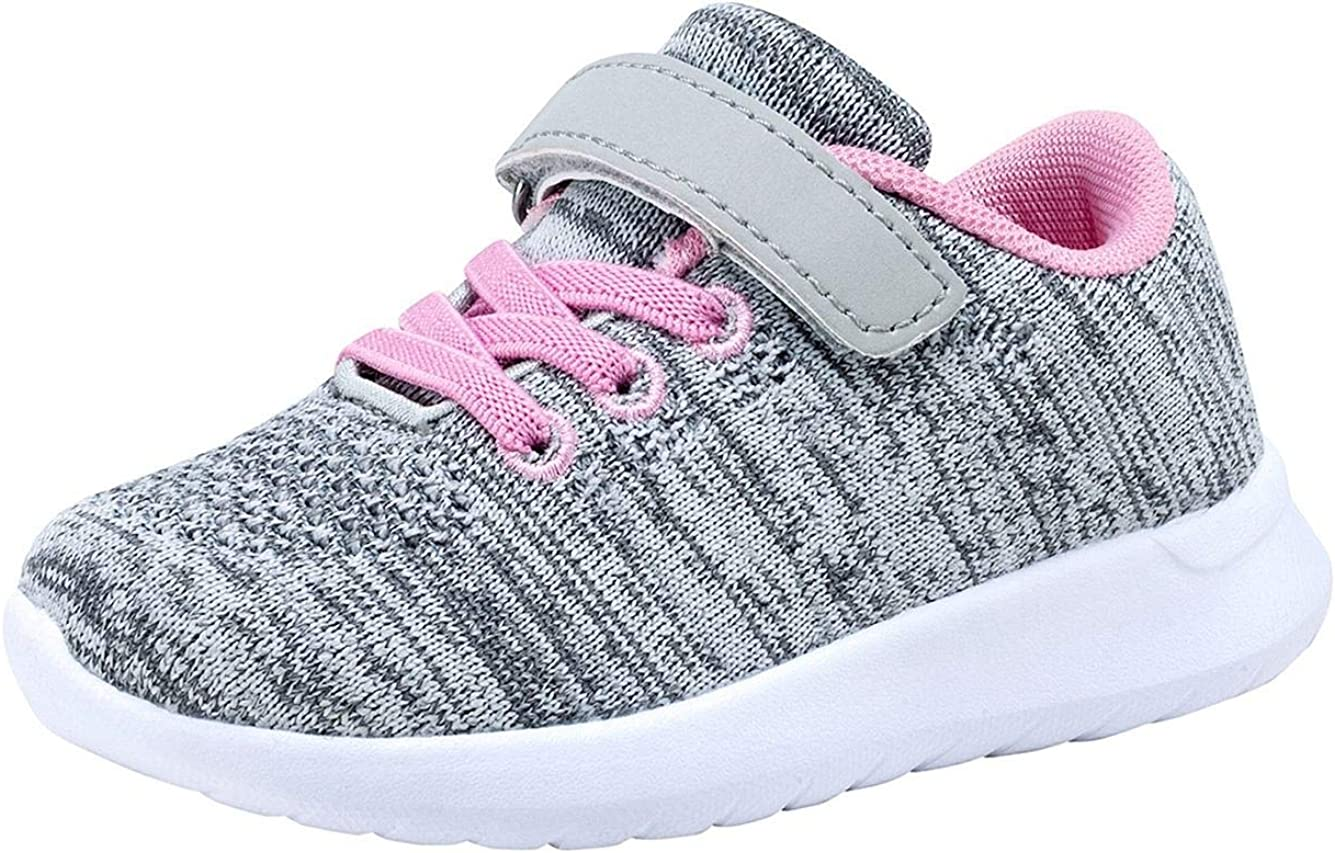 Umbale Girls Fashion Sneakers Comfort Max 60% OFF Kids Toddler Running service Shoes