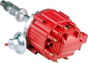 Brand New Compatible Ignition Distributor w/ Cap & Rotor 1040011 JM6504R PE326 for Pontiac 301ci 326ci 350ci 389ci 400ci 421ci 428ci 455ci V8 HEI KA-1040011