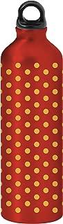 Gaiam 750ml Aluminum Water Bottle (Polka Dots, Poly Loop Cap)