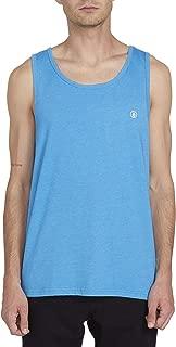 Men's Solid Heather Tank Top Shirt