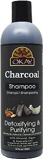 OKAY Charcoal Shampoo Detoxifying & Purifying
