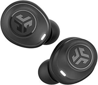 JLab Audio JBuds Air True Wireless Signature Bluetooth Earbuds + Charging Case - Black - IP55 Sweat Resistance - Bluetooth...