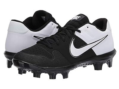 Nike Alpha Huarache Varsity Low MCS (Black/White) Men