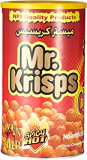 Mr Krisps Cheezos Spicy Flaming Hot Can, 80 gm