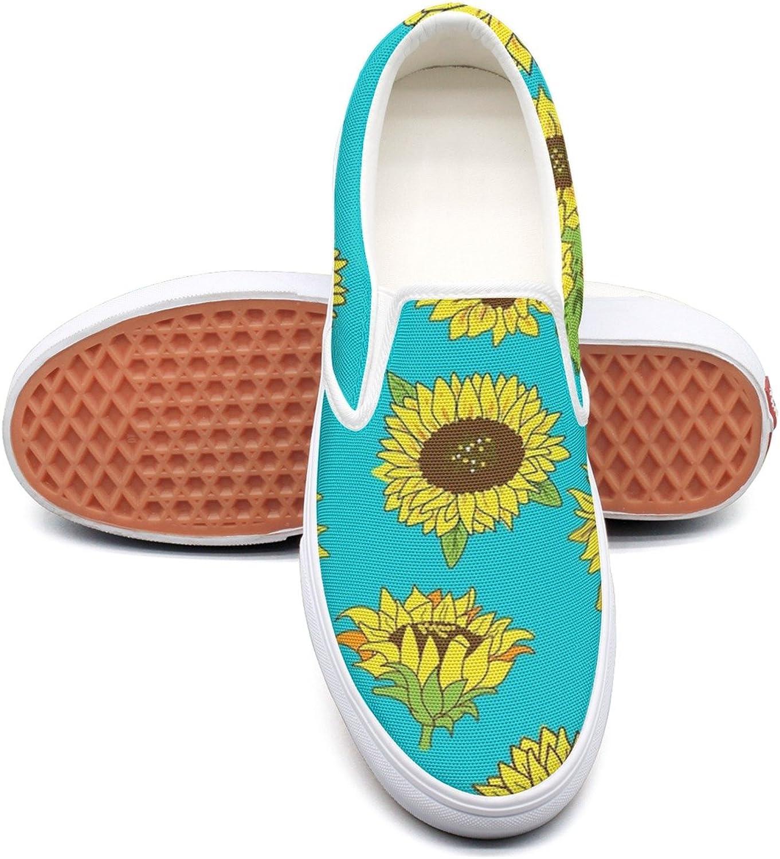SEERTED Grunge Sunflower Sneaker Women Walking
