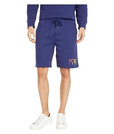 Polo Ralph Lauren Lightweight Fleece Shorts (Boathouse Navy) Men