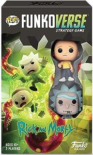 FunKo Pop! - Funkoverse Strategy Game: Rick & Morty #100 - Expandalone, Multicolor