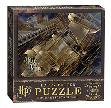 USAOPOLY PZ010-511 Harry Potter Staircase Jigsaw Puzzle, Multicolor