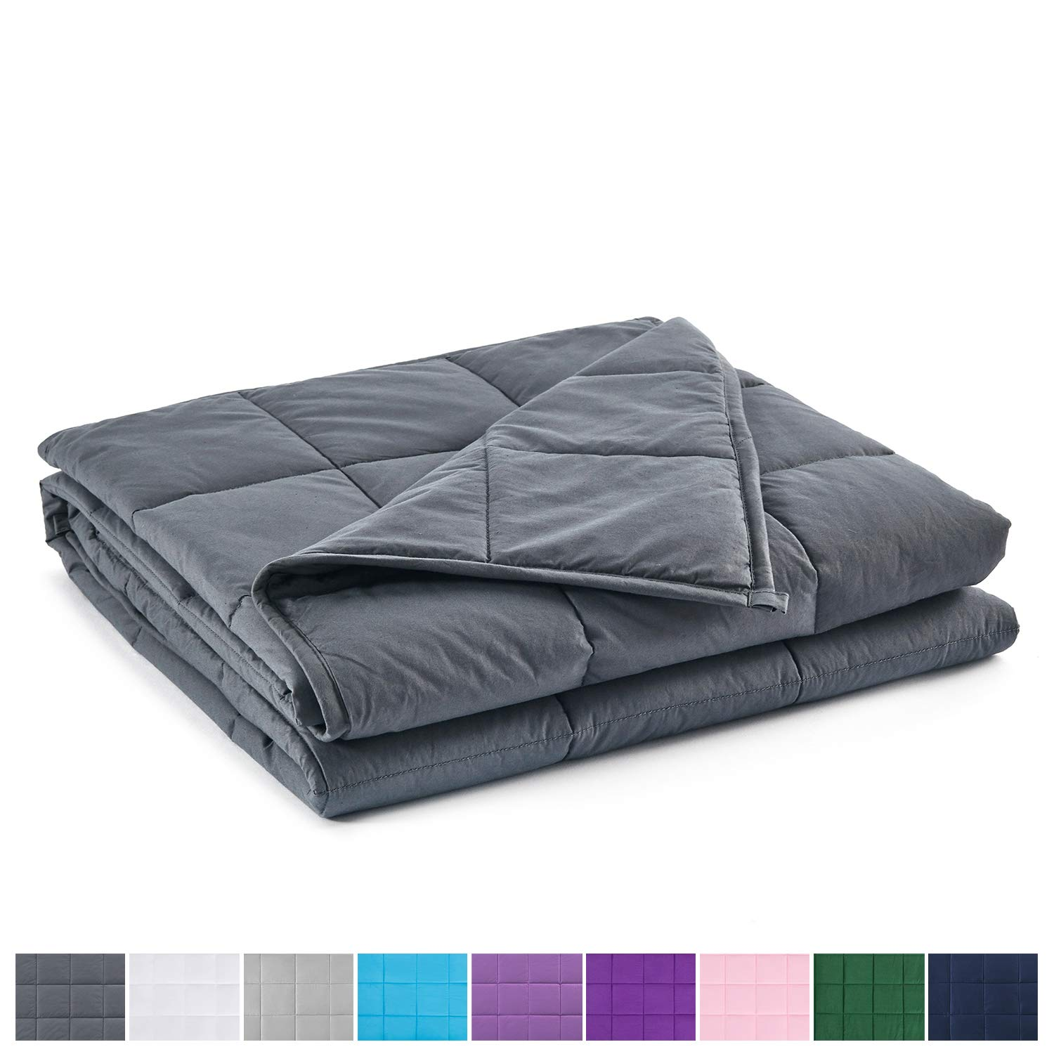 RelaxBlanket Premium Weighted Blanket Natural