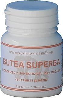 Tongkatali.org's Butea Superba Extract 1:100, 60 Capsules 400 mg