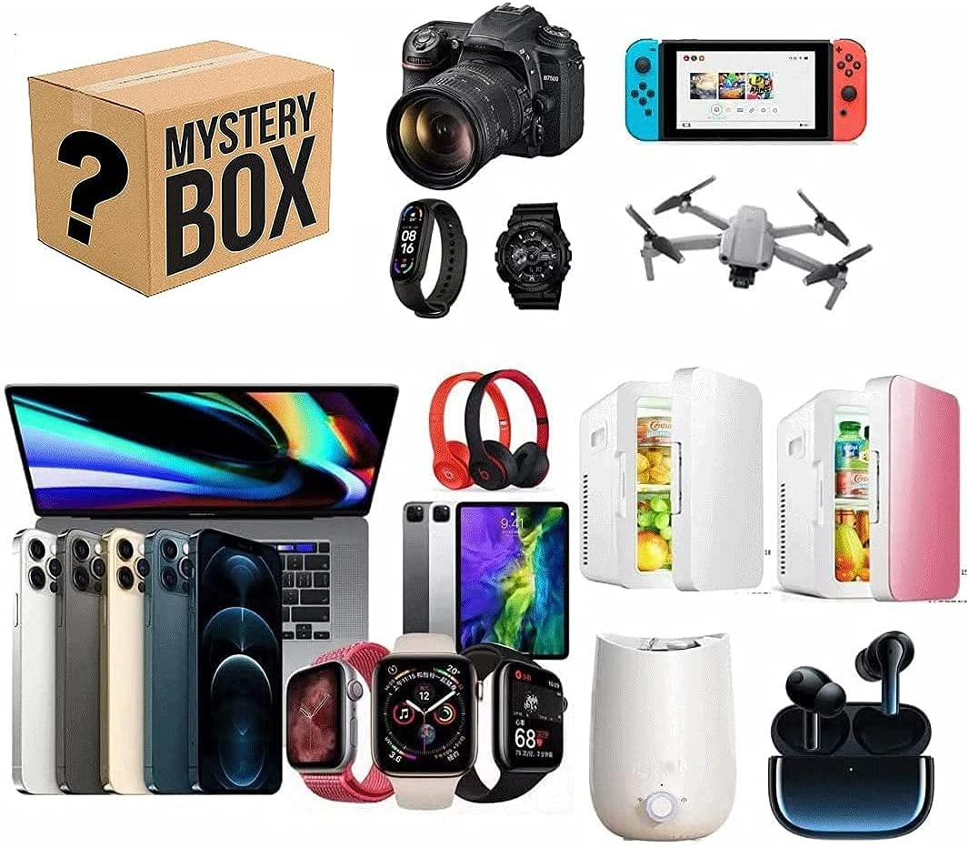 Super Spasm price sale period limited Mystery Box Electronics Boxes Surprise Birthday Random