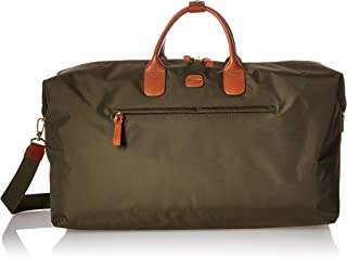 Bric's X-bag/X-travel 2.0 22 Inch Deluxe Cargo Overnight/Weekend Duffel Bag, Olive (green) - BXL40202-078
