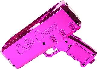 The Cash Cannon Make It Rain Money Dispenser - Chrome Pink- Novelty Item