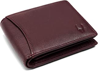 WILDHORN RFID Protected Leather Men's Wallet (Bombay Brown)