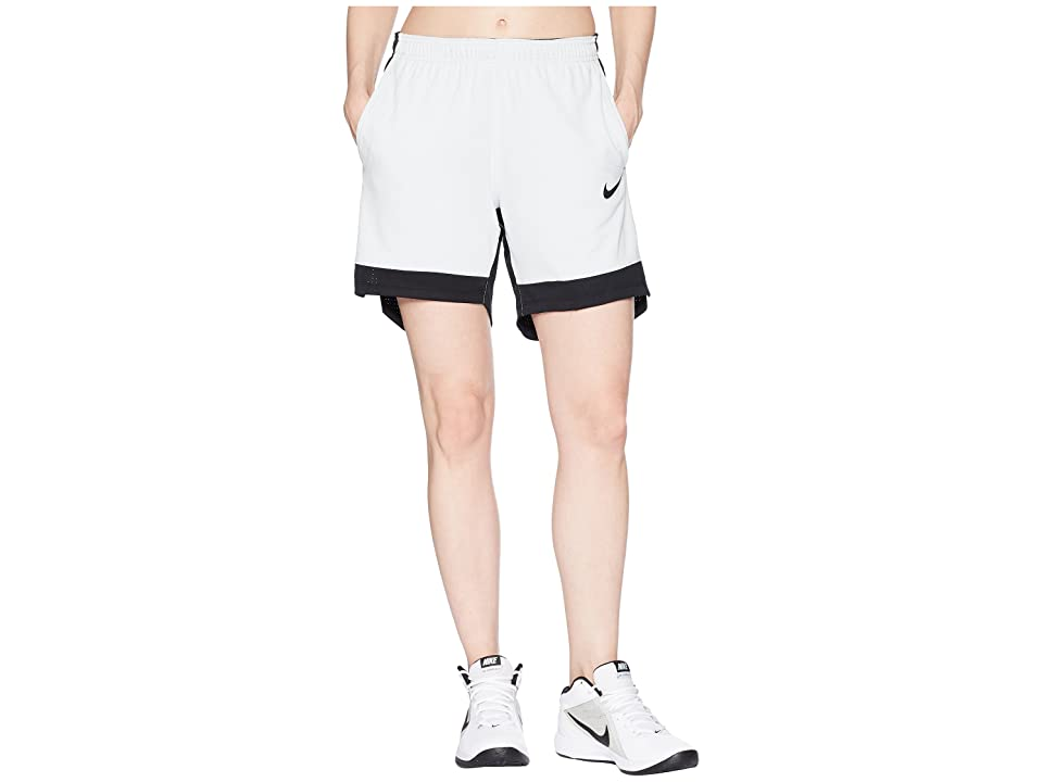 Nike Dry Elite Basketball Short (Pure Platinum/Wolf Grey/Black/Black) Women