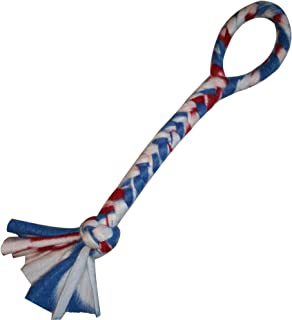 Dukes Digs Dog Toy Made in USA - Tug of War Dog Chew Toy Interactive Training Tool and Teething Toy